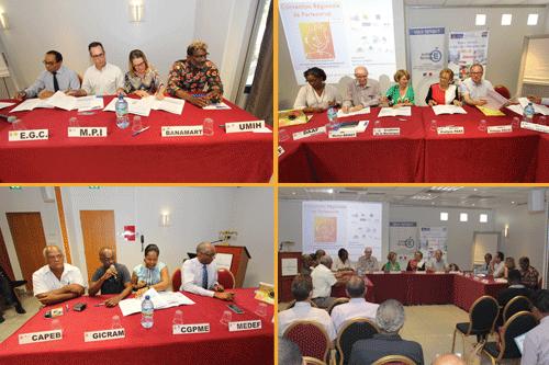 Signature d'une Convention régionale : Développer l'enseignement de la santé et sécurité au travail