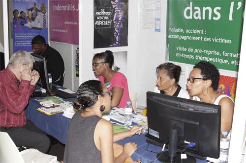 Salon S-ST 2015 : Les principaux partenaires de la prévention étaient présents