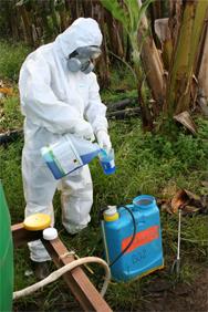 Exposition au risques chimique